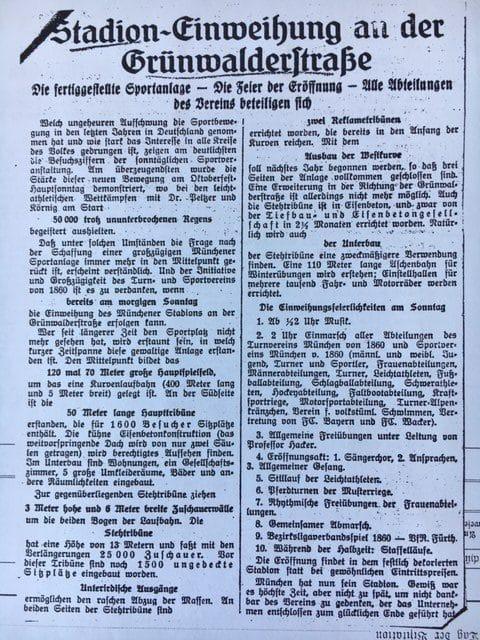 Einweihung GWS 1926