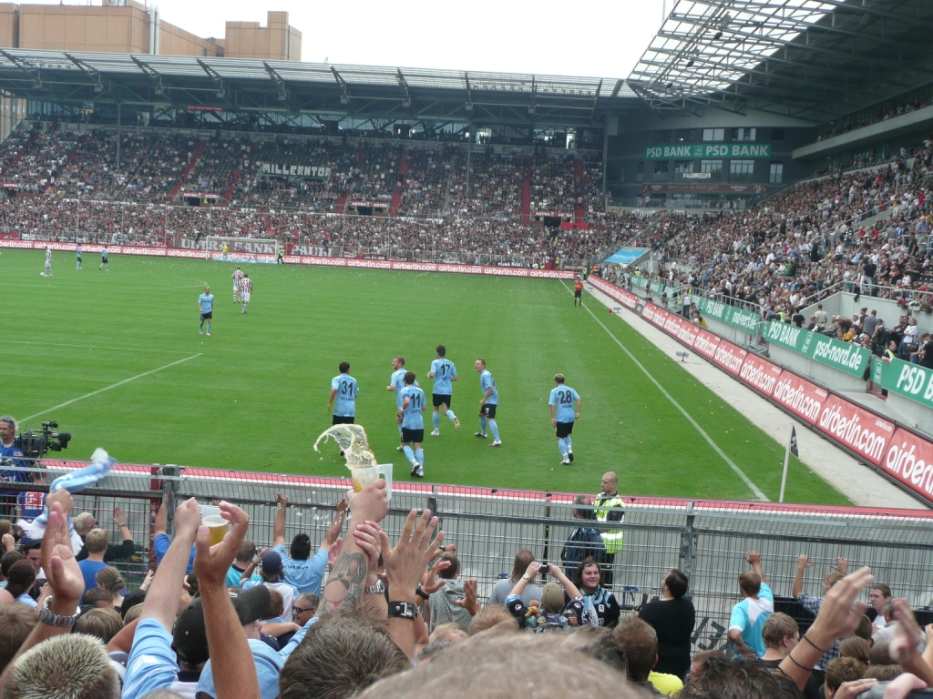 St. Pauli gegen 1860 am 11.09.2011