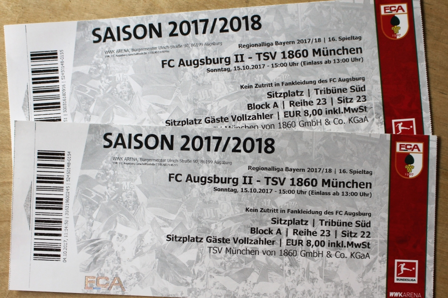 Tickets Gewinnspiel