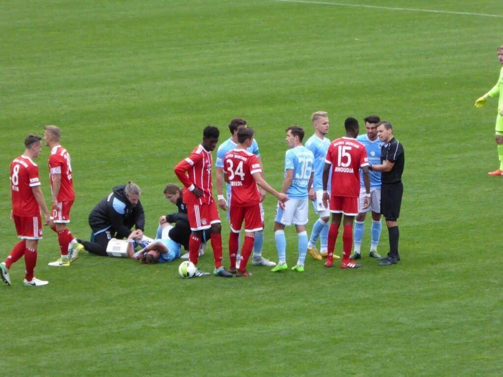 TSV 1860 gegen FCB II - Nicolas Andermatt