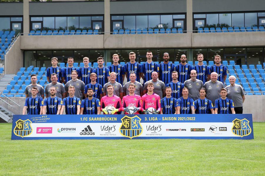 1. FC Saarbrücken, Mannschaftsfoto