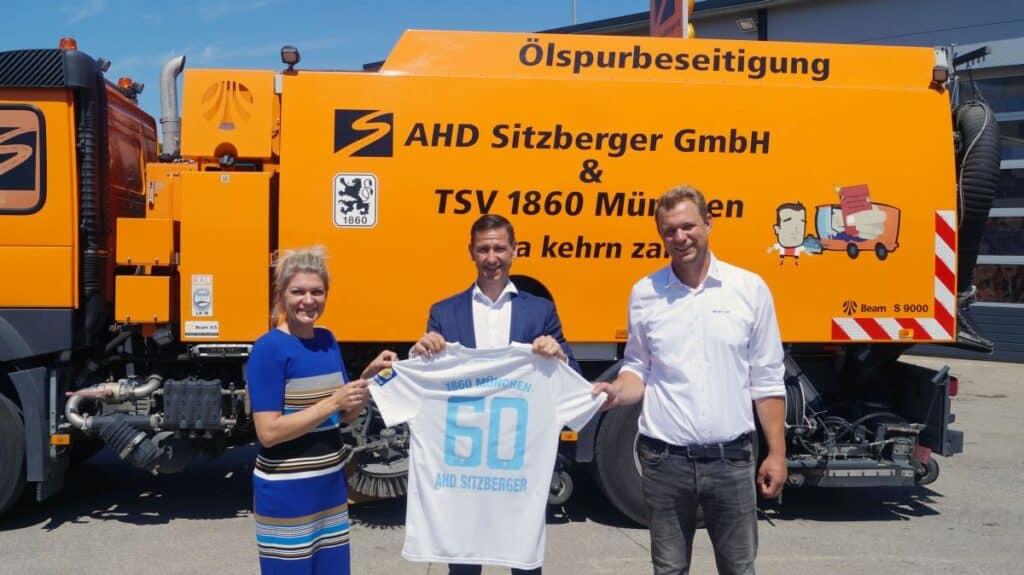 AHD Sitzberger GmbH, Partner des TSV 1860 München