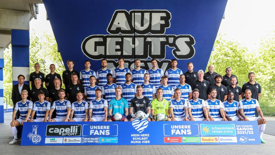 MSV Duisburg, Mannschaftsfoto