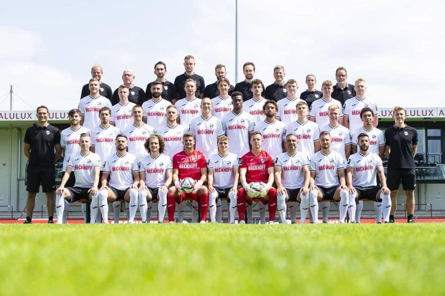 SV Verl, Mannschaftsfoto