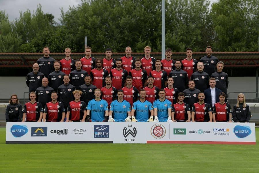 SV Wehen Wiesbaden, Mannschaftsfoto